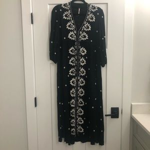Free People Fable Midi Dress
